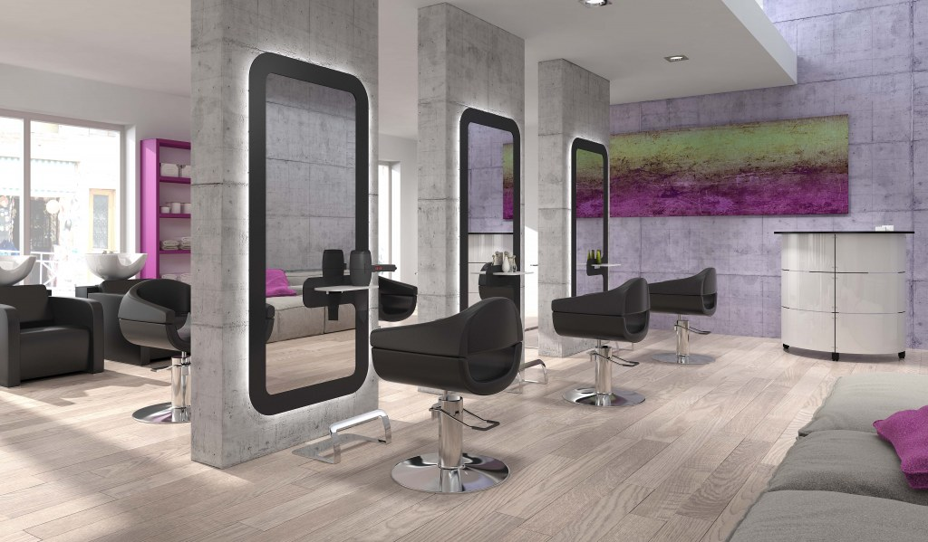 Pack mobilier salon coiffure looker 6 postes destockage for Acheter salon complet