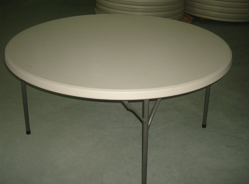 Table pliante ronde 150cm professionnel destockage grossiste for Table pliante exterieur professionnel