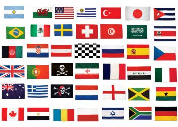 pays drapeaux