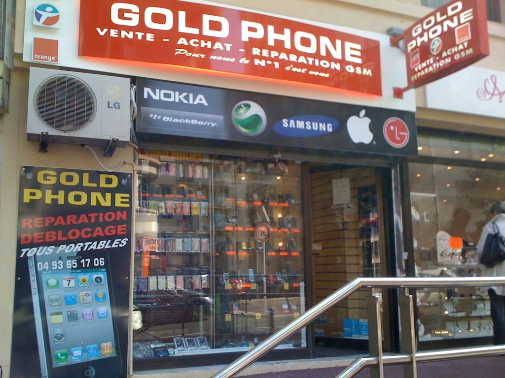 Barbes Reparation Iphone