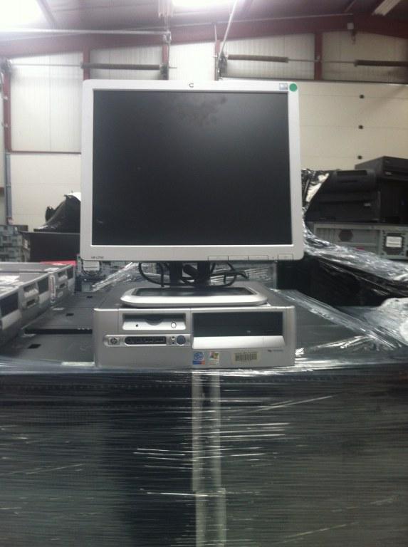 Ordinateur bureau hp d530 ecran plat17 garantie - Destockage ordinateur de bureau ...