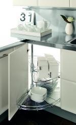 Accessoires pour meuble bas d 39 angle de cuisine destockage grossiste - Accessoire meuble cuisine ikea ...