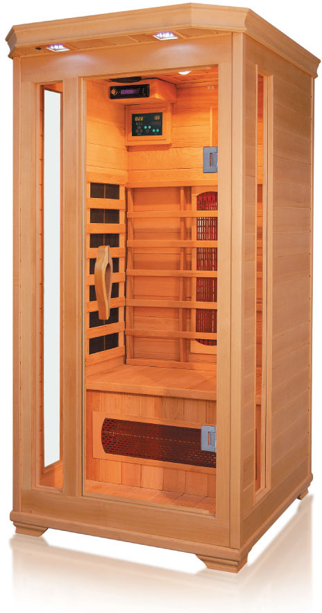Sauna infrarouge sun 1 1 place destockage grossiste - Avis sauna infrarouge ...