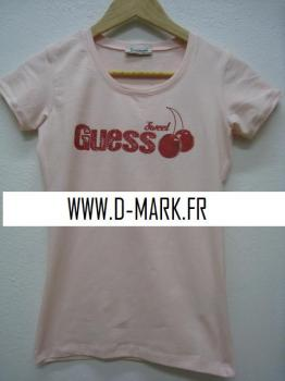 * DESTOCKEUR TEE SHIRT GUESS
