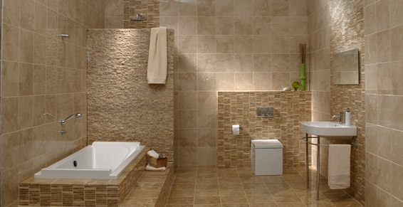 Travertin 20 20cm mix cc inte exte destockage grossiste for Salle bain travertin