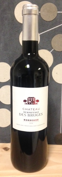 vin rouge 75 cl bordeaux aoc 2008 ch teau hermitage des bruges r coltant. Black Bedroom Furniture Sets. Home Design Ideas