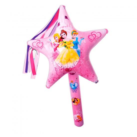 baguette magique star gonflable princesses destockage. Black Bedroom Furniture Sets. Home Design Ideas