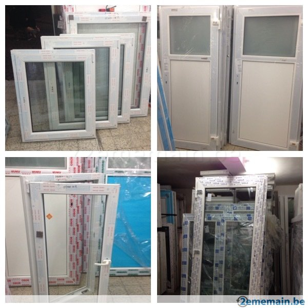 menuiserie pvc rehau 70 mm miradoors destockage grossiste