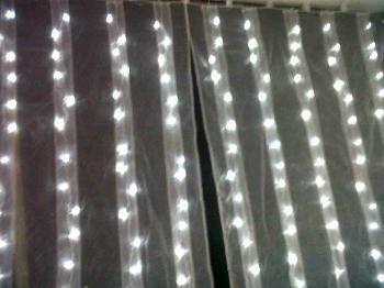 vente de rideaux lumineux et trnes mariage oriental - Tenture Mariage Lumineuse