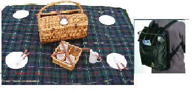 grand plaid pique nique impermeable destockage grossiste. Black Bedroom Furniture Sets. Home Design Ideas