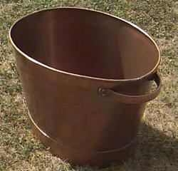 Bassine cache pot cuivre france negoce destockage grossiste - Cache pot cuivre ...