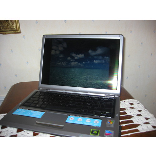 pc portable sony vaio a417s neuf cause double emploi 990 euros destockage. Black Bedroom Furniture Sets. Home Design Ideas