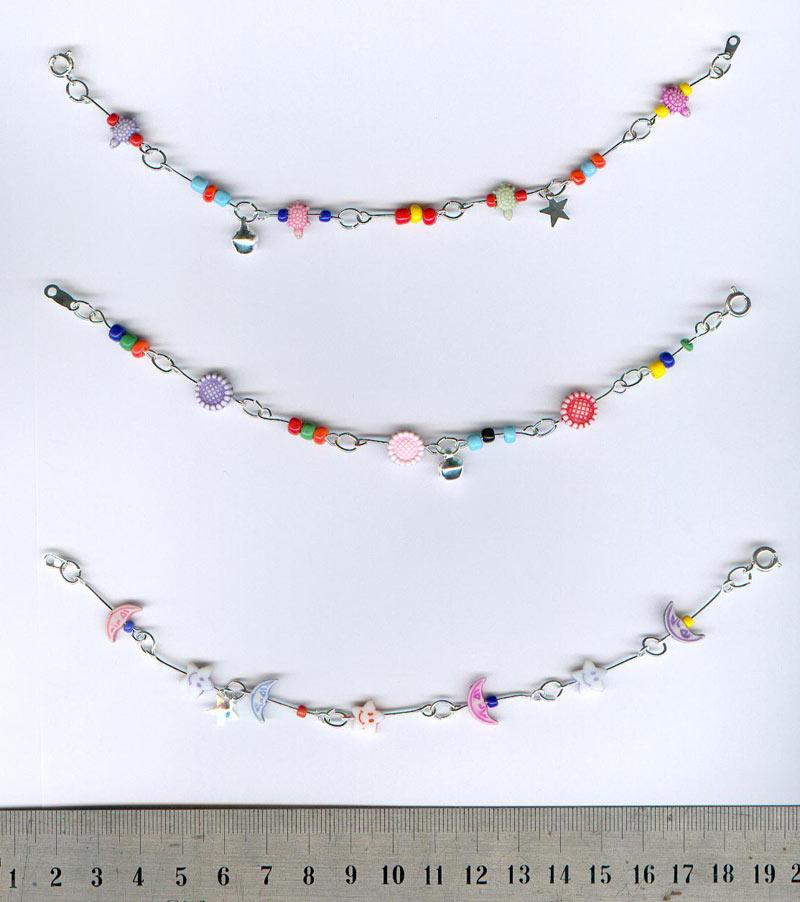 bijoux fantaisies chaine de cheville enfant bracelet 0 35 eu. Black Bedroom Furniture Sets. Home Design Ideas