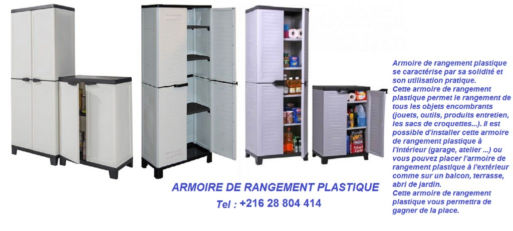 armoire de rangement plastique destockage grossiste. Black Bedroom Furniture Sets. Home Design Ideas