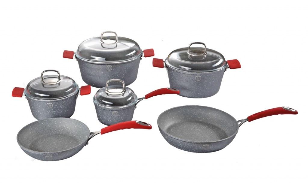 Berlinger haus bh 1001 set ustensiles de cuisine en revetements de - Ustensiles de cuisine belgique ...