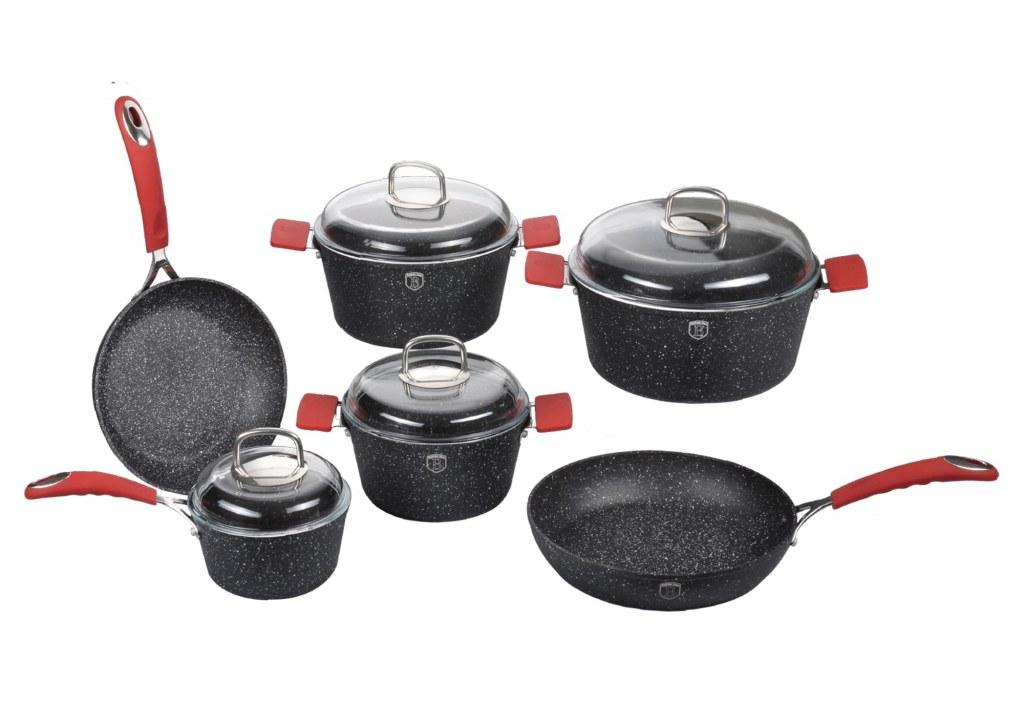 Blaumann bl 1005 set ustensiles de cuisine en revetements for Ustensiles de cuisine belgique