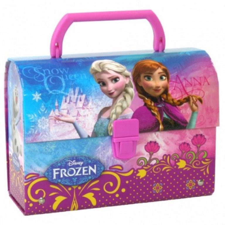 La reine des neiges boite a go ter lunch box valisette destockage - Boite a bijoux reine des neiges ...