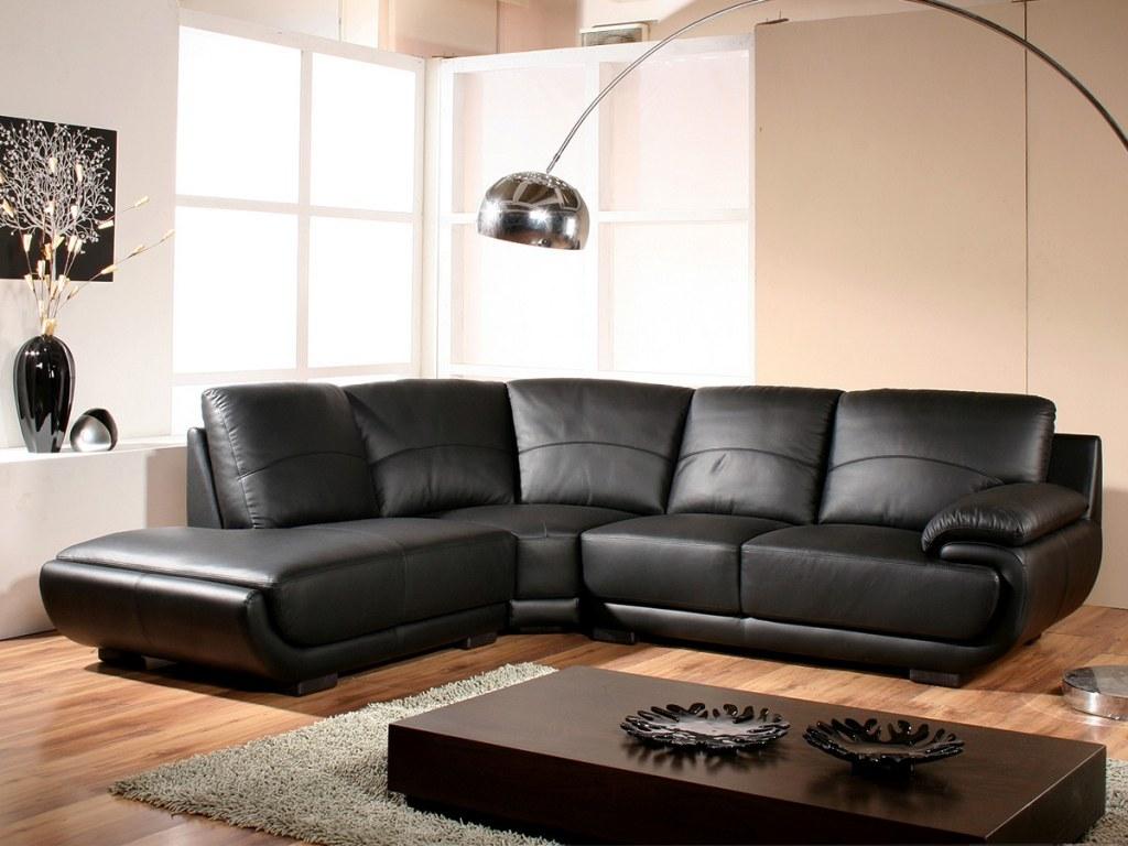 canape d 39 angle en cuir disponible en beige blanc marron ou noir. Black Bedroom Furniture Sets. Home Design Ideas