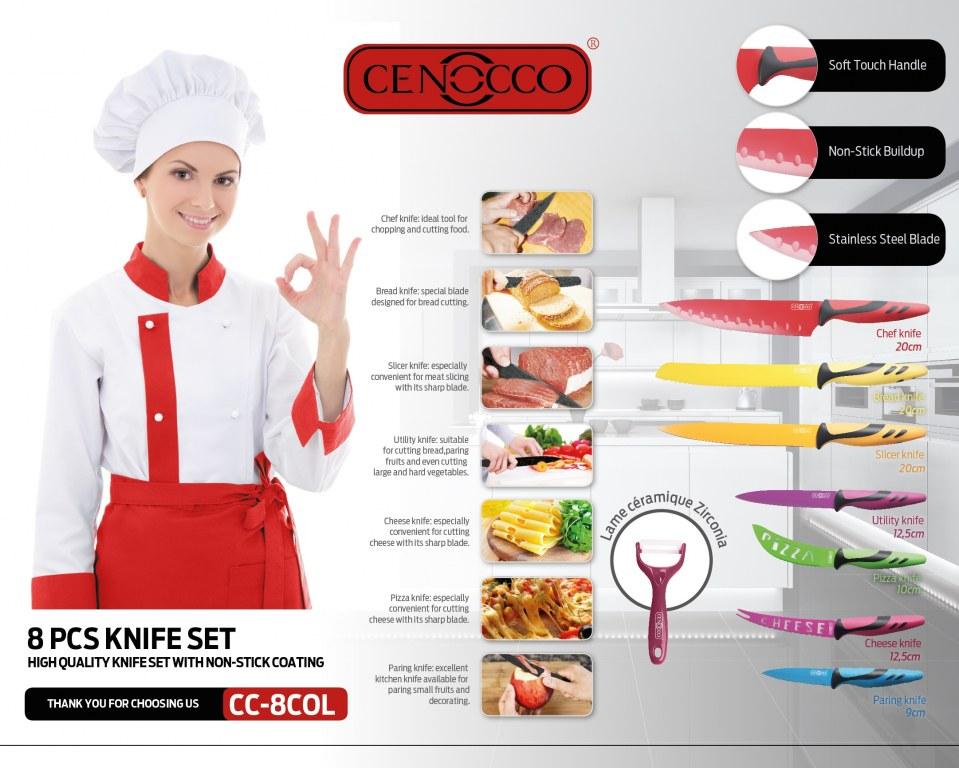 Set de couteaux de cuisine ams destockage grossiste - Set de couteaux de cuisine ...