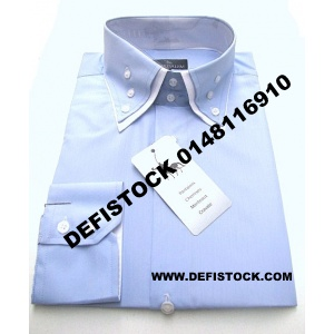 CHEMISE DOUBLE COL REF 2406 8.5€ HT
