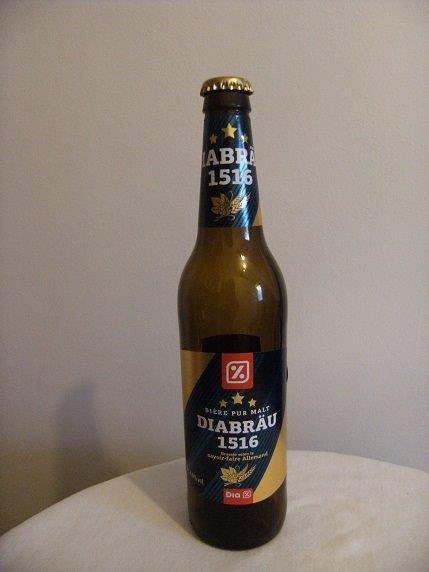 biere diabrau 1516 bouteille 50 cl destockage grossiste. Black Bedroom Furniture Sets. Home Design Ideas