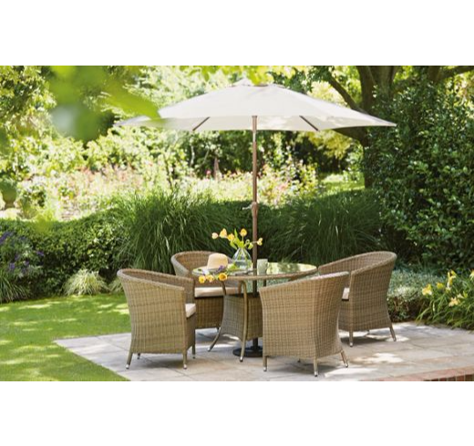 salon de jardin worcester 4 personnes effet rotin du neuf destockage. Black Bedroom Furniture Sets. Home Design Ideas