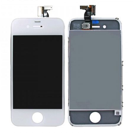 Ecran iphone 4 et 4s noir ou blanc destockage grossiste for Ecran photo iphone noir