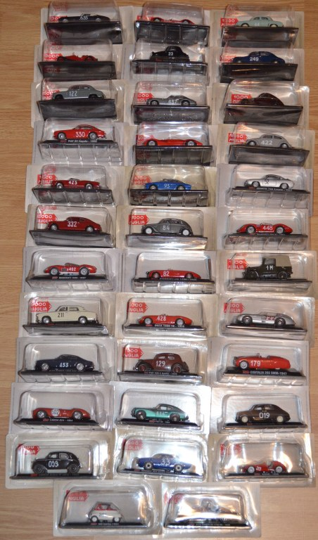 lots voitures miniatures 1000 miglia 1 43 destockage grossiste. Black Bedroom Furniture Sets. Home Design Ideas