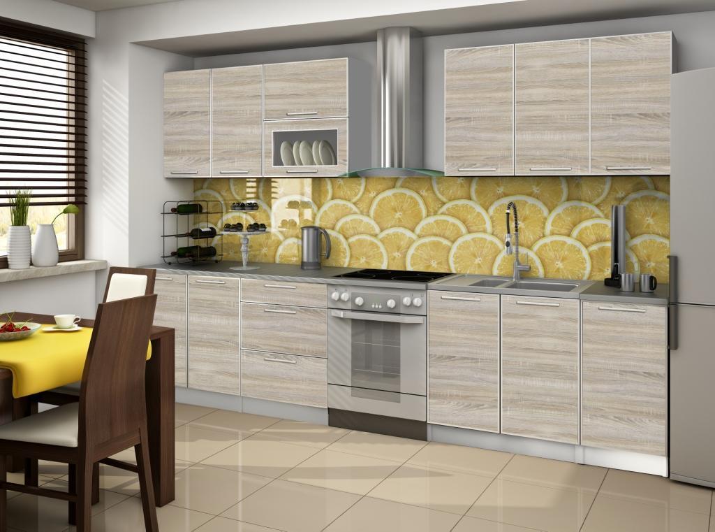 Cuisine complete porta sonoma 2m60 destockage grossiste for Acheter cuisine complete