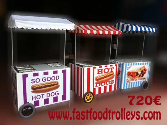 vente de buggy chariot hot dog. Black Bedroom Furniture Sets. Home Design Ideas