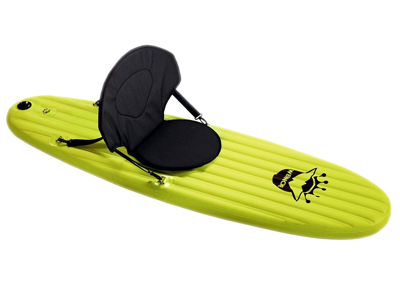stand up paddle gonflable quot wehncke quot jaune 1m70 destockage grossiste