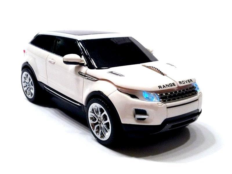 souris filaire range rover evoque blanche 11cm destockage grossiste. Black Bedroom Furniture Sets. Home Design Ideas