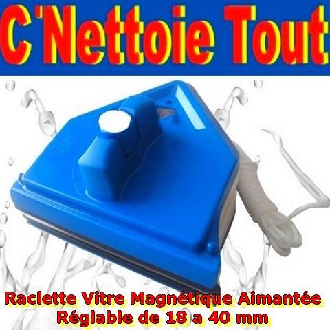 raclette lave vitre magnetique aimant n odyme surpuissant. Black Bedroom Furniture Sets. Home Design Ideas
