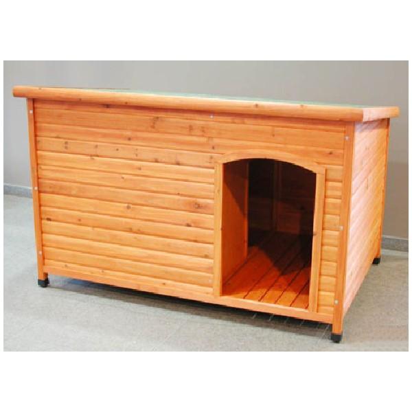 Lot de niches en bois grand chien extra large for Niche pour chat exterieur bois