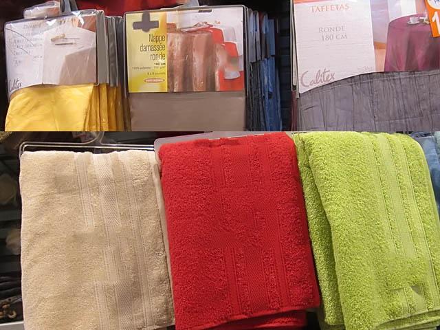 Palettes linge de maison sarl prospect excel destockage for Acheter linge de maison