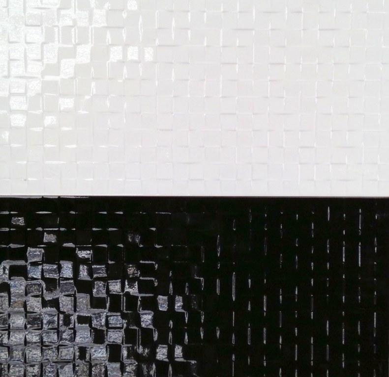 lot faience mosaique relief 25 x50 brillant commercial destockage. Black Bedroom Furniture Sets. Home Design Ideas