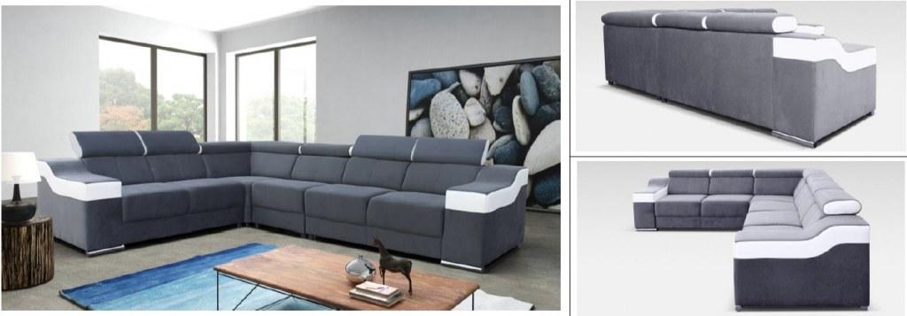 canape panoramique moblestock destockage grossiste. Black Bedroom Furniture Sets. Home Design Ideas