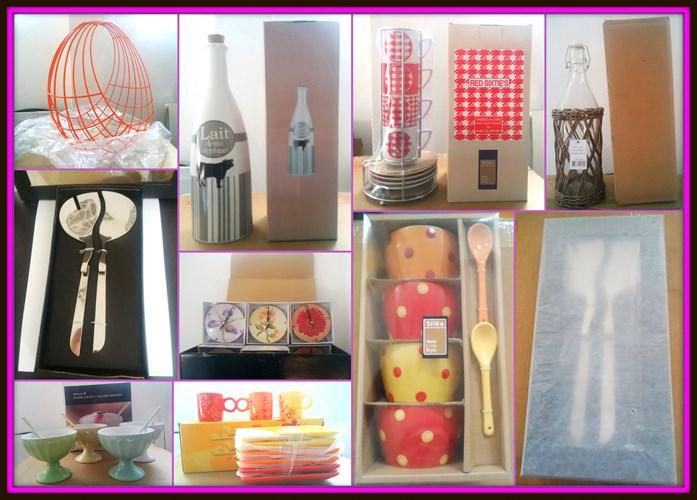 Art de la table accessoires et vaisselle sil a destockage grossiste - Grossiste en vaisselle de table ...