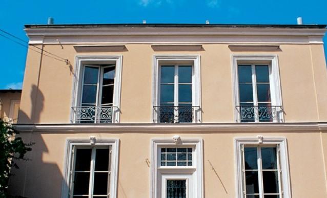Peinture fa ade pliolite haute gamme 65 ht 15l destockage grossiste - Comment peindre une facade crepi ...