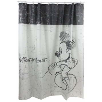 Rideau de douche disney mickey destockage grossiste - Rideau de douche plus de 2 metres ...