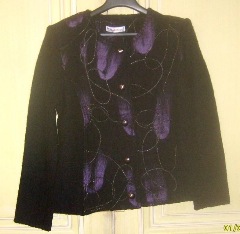 veste femme en laine bouillie destockage grossiste. Black Bedroom Furniture Sets. Home Design Ideas
