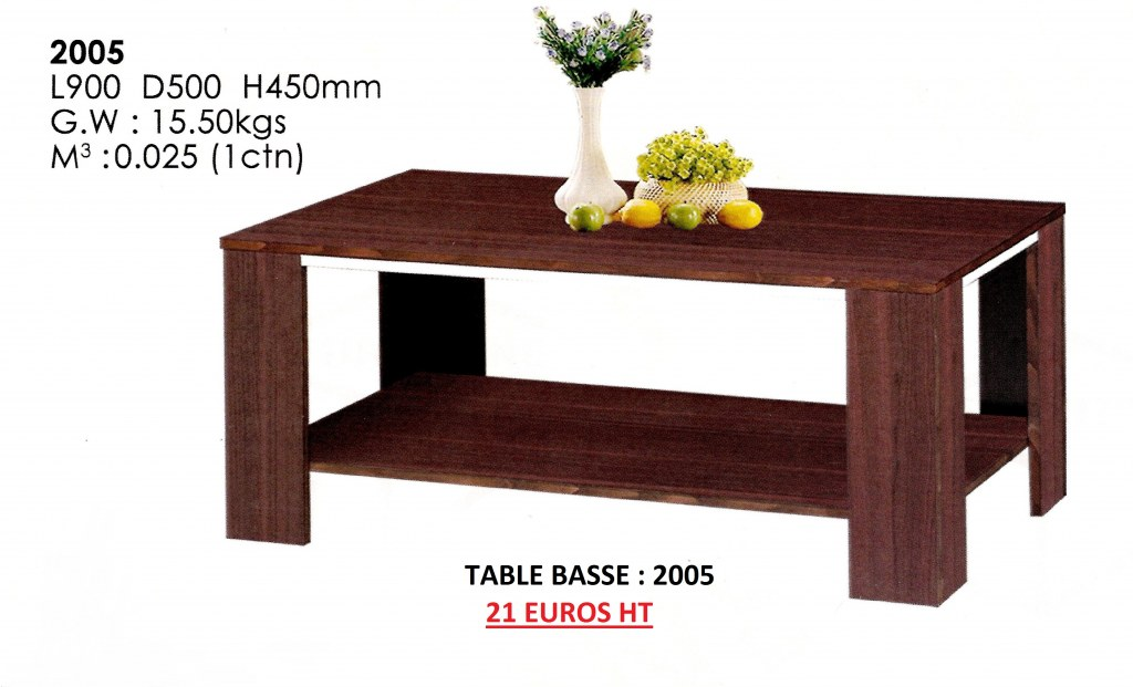 Table Basse Proconfort S A Destockage Grossiste