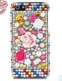 Grossiste,fournisseur chinois : Colorful Flower et arrêt du diamant en surface dure pour l'iPhone 5