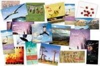Stock de cartes de voeux entreprises originales