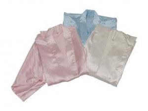 Kimono satin de polyester