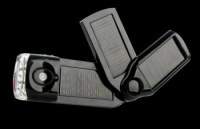 lampe torche/chargeur solaire