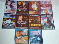 Lot de 10 DVD