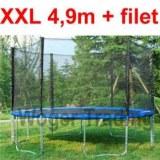 trampoline 4.9 de diametre