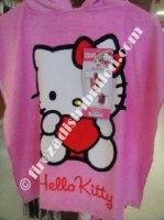 Poncho enfant Hello Kitty