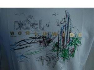 lots de t-shirt diesel
